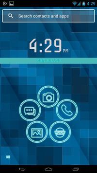 Smart Launcher Neon poster