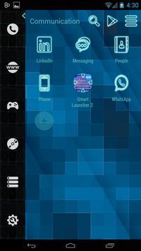 Smart Launcher Neon screenshot 1