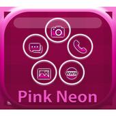 Smart Launcher Pink Neon icon