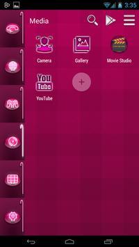 Smart Launcher Pink Neon screenshot 4