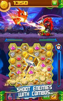 Slug Match 3 RPG screenshot 2