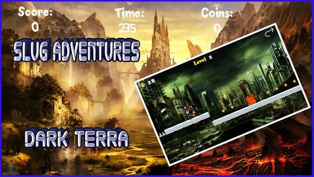 Slug Adventure terra dark screenshot 2