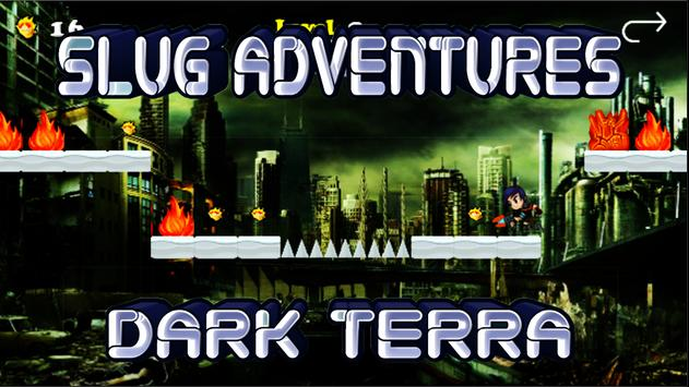 Slug Adventure terra dark screenshot 4