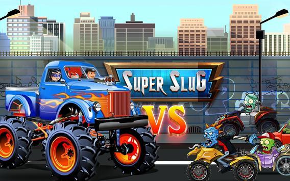 Super Slug Road Battle poster