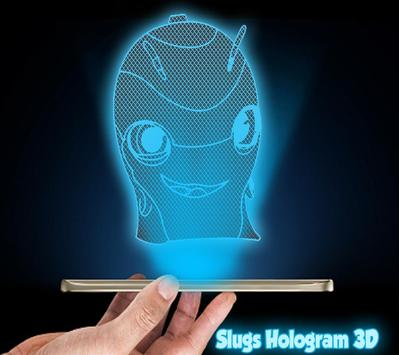 Slugs 3D Holograme Joke apk screenshot