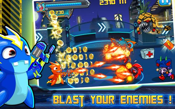 Super Slugs Jet Fire Shooter apk screenshot
