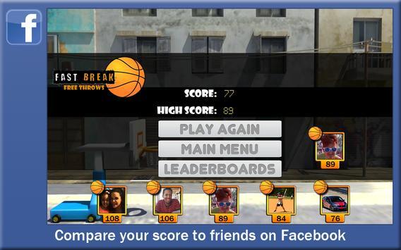 Fast Break Free Throws (Old) apk screenshot