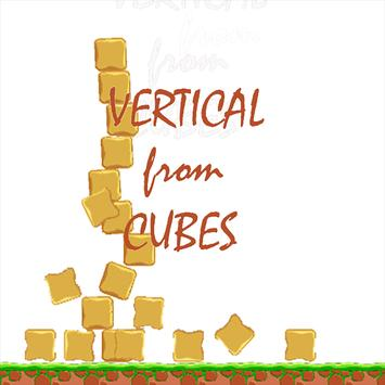 Vertical From Cubes poster