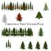 Christmas Tree Sticker Pack
