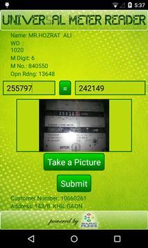 Universal Meter Reader apk screenshot
