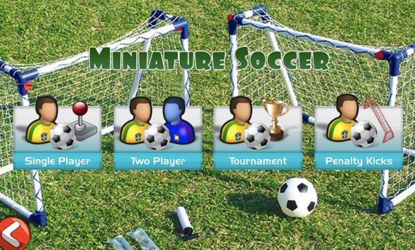 Miniature Soccer poster