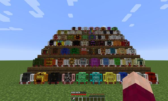 New Backpack Mod for MCPE poster