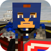 Captain Justice Mod for MCPE icon