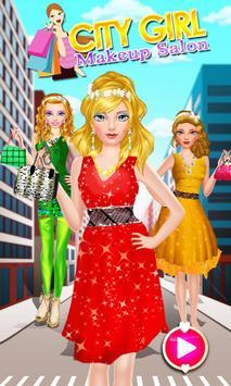 City Girl Makeover - Girl Game poster