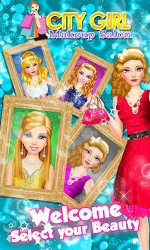 City Girl Makeover - Girl Game screenshot 1