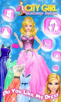City Girl Makeover - Girl Game screenshot 4
