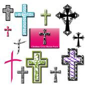 Christian Faith Cross Stickers icon