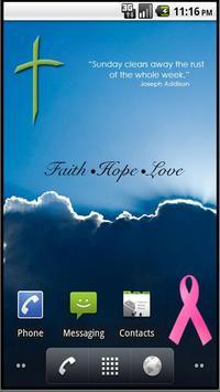 Christian Faith Cross Stickers poster