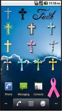 Christian Faith Cross Stickers screenshot 1