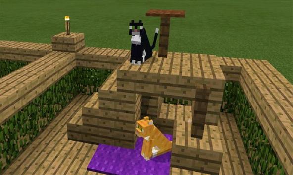 Family of Cats Mod for MCPE apk screenshot