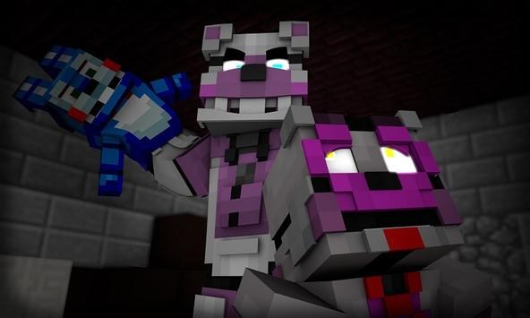 Five Friends Horror Mod for MCPE poster