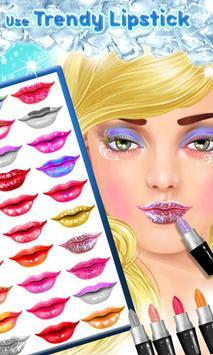 Ice Princess Lips Makeover apk screenshot