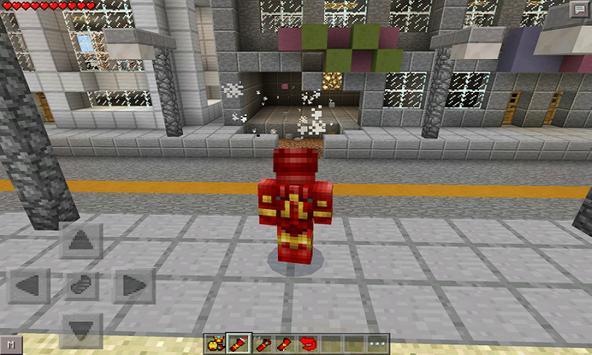 Iron Hero Mod for MCPE apk screenshot