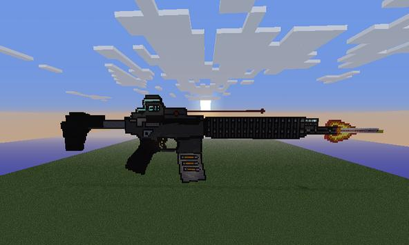 Killer Cannon Mod for MCPE poster