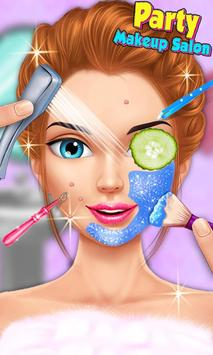 Party Girl Make-up & Makeover apk screenshot