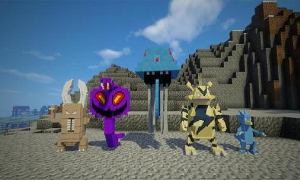 Pixel Monsters Mod for MCPE screenshot 2
