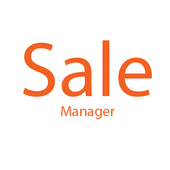 Sale manager icon