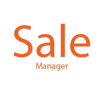 Sale manager poster