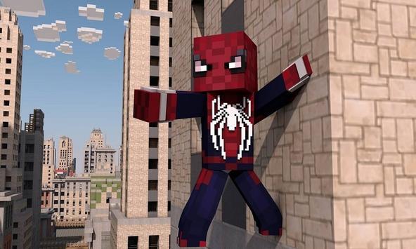 Spider Hero Mod for MCPE apk screenshot