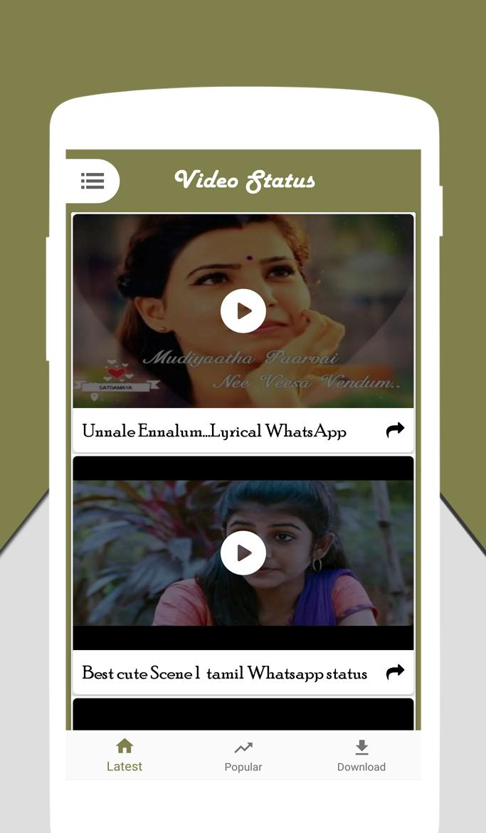 Tamil Video Status Video Status For Whatsapp For Android