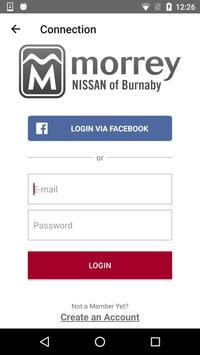 Morrey Nissan screenshot 2