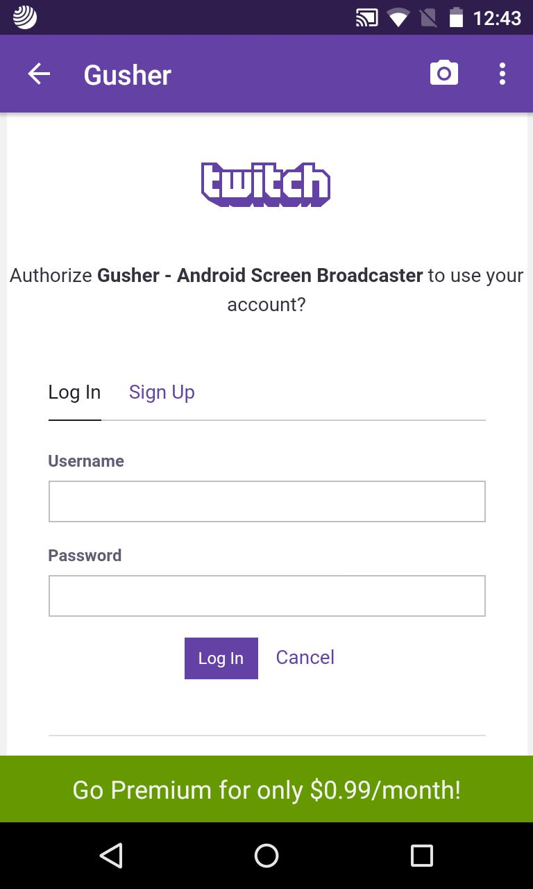 BROADCASTER TÉLÉCHARGER GUSHER SCREEN