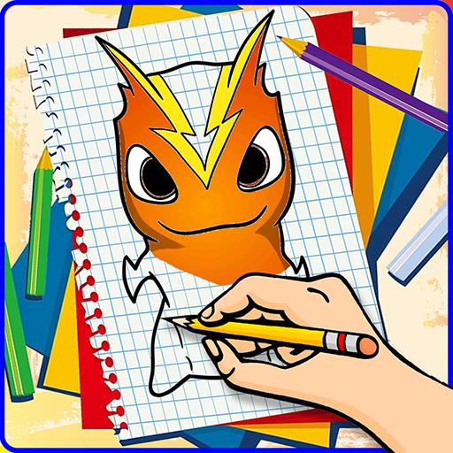 Draw Slugterra Characters