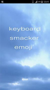Anime moji 3D Animated Emoji Keyboard for Phone X poster