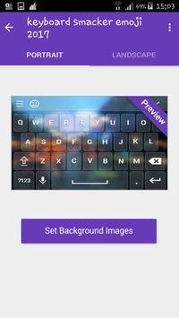 Anime moji 3D Animated Emoji Keyboard for Phone X apk screenshot