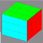 Colored Puzzle Cube icon