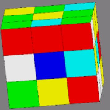 Colored Puzzle Cube apk screenshot