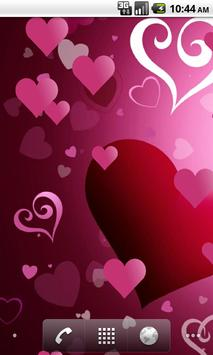 Hearts Live Wallpaper poster