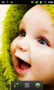 small baby wallpaper apk screenshot