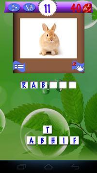 Pics Animals Quiz apk screenshot