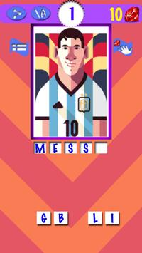 Soccer Players Quiz 2 poster