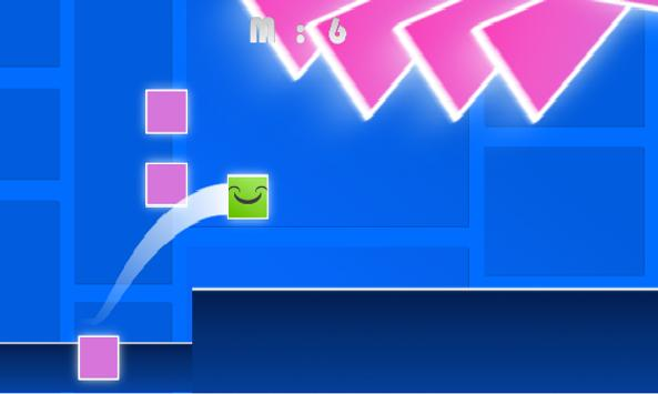 Geometry Rush Race apk screenshot