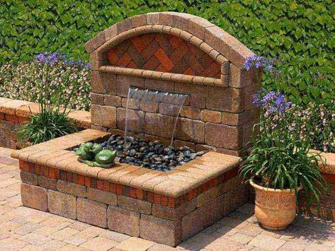 Small Backyard Water Features Design screenshot 4