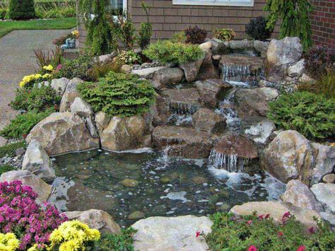 Small Backyard Water Features Design screenshot 5