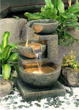 Small Backyard Water Features Design screenshot 1