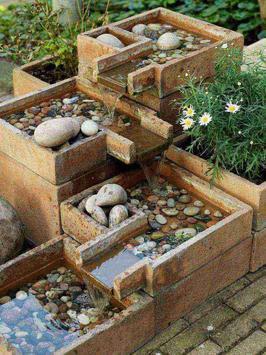 Small Backyard Water Features Design screenshot 2